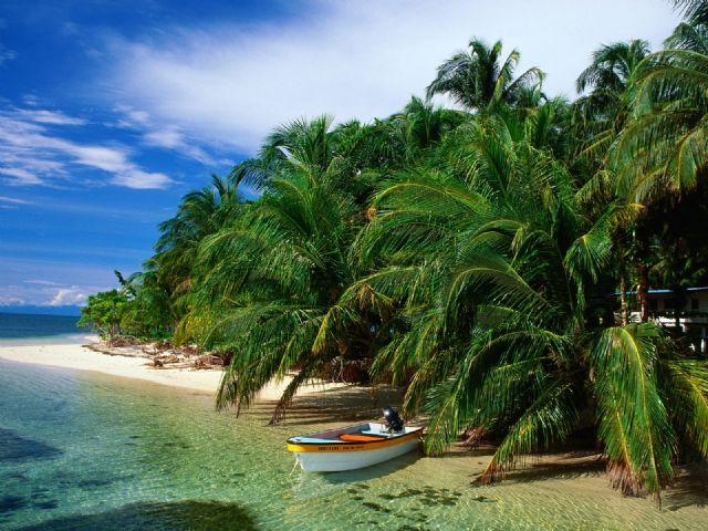 Doğa manzara gt gt tropikal cennetler gt gt panama da huzurlu bir tatil